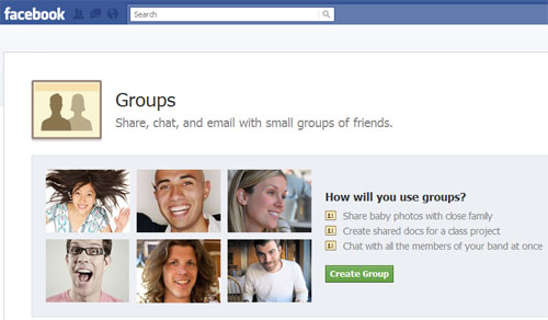 New Facebook Groups