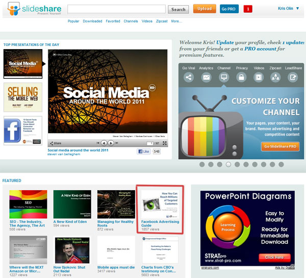 How To Get Crazy Traffic Using SlideShare and LinkedIn