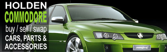 Holden Commodore Facebook Group banner 801 x 250 pixels