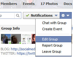 Customize Your Facebook Group Info