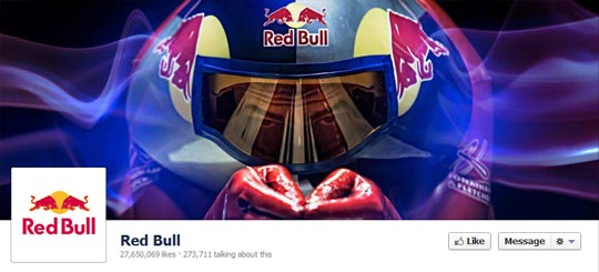 Facebook Page Cover Picture - Red Bull