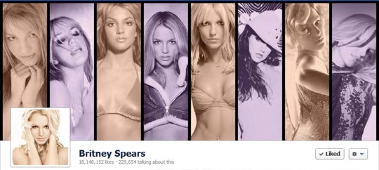 Facebook Page Cover Image - Britney Spears