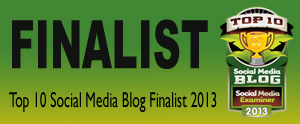 Top 10 Social Media Blog Finalist 2013