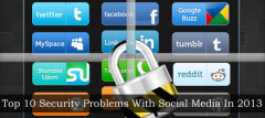 Top 10 Security Problems With Social Media In 2013