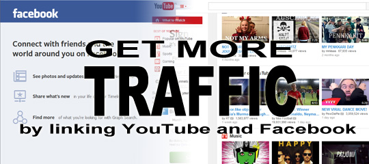 Get More Traffic By Linking YouTube And Facebook - Social Media Revolver