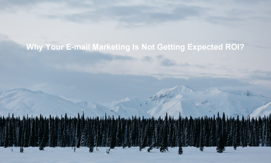 Why Your E-mail Marketing Is Not Getting Expected ROI