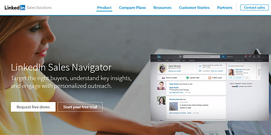 5 Fundamental LinkedIn Tools for Sales and Marketing No 4 - LinkedIn Sales Navigator