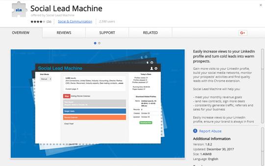 5 Fundamental LinkedIn Tools for Sales and Marketing No 5 - LinkedIn Social Lead Machine