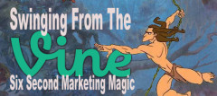 Swinging From The Vine: Six Second Marketing Magic