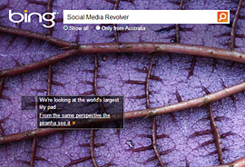 Bing search engine - Alternative to Google