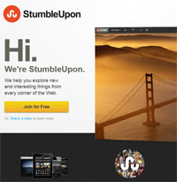 Referral Traffic from StumbleUpon
