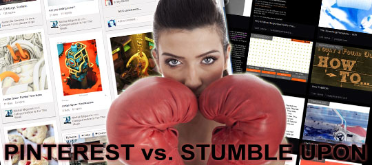 How To Get More Referral Traffic: Pinterest vs. StumbleUpon