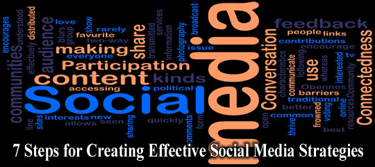7 Steps for Creating Effective Social Media Strategies