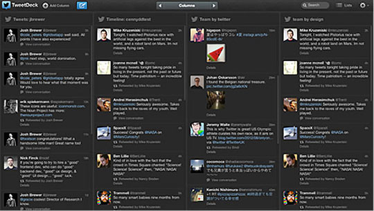 how to set up tweetdeck
