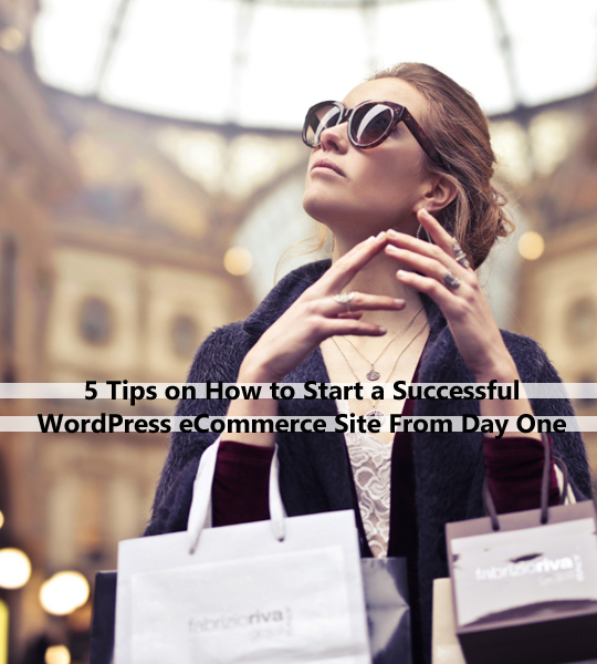 5 Tips on How to Start a Successful WP eCommerce Site From