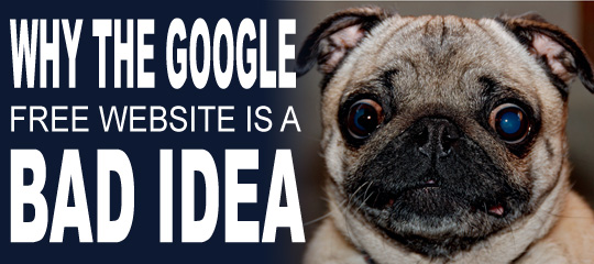 Why The Google Free Website Is A Bad Idea | Social Media Revolver