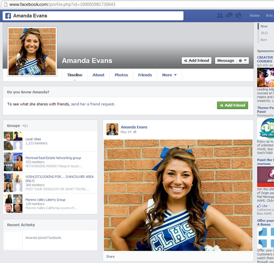 Facebook Fake Account Melden
